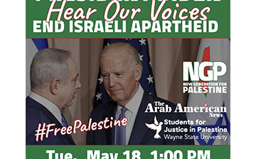 Arab Americans to protest Biden's visit to Dearborn on Tuesday