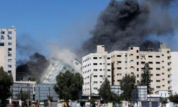 Israel destroys AP, Al Jazeera tower, killing of Palestinians continues