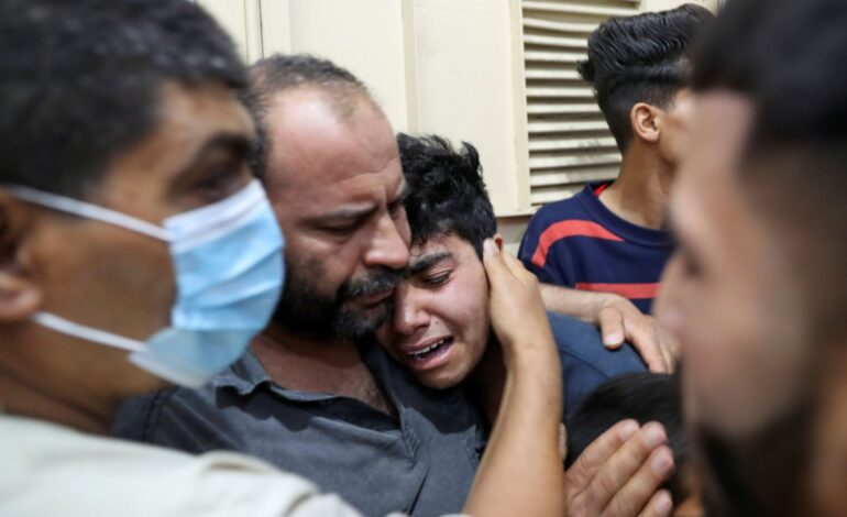 20 Palestinians killed, including 9 children, killed by Israeli air strikes in Gaza, amid days of violence