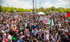 """""""We are seeds"""": More than 10,000 local residents protest murderous Israeli campaign against Palestine"""
