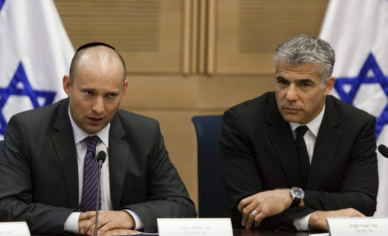 Far-right nationalist Bennett and centrist Lapid could end Netanyahu's reign