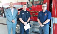 Dearborn Heights firefighter recognized for volunteering 170 hours in vaccine clinic