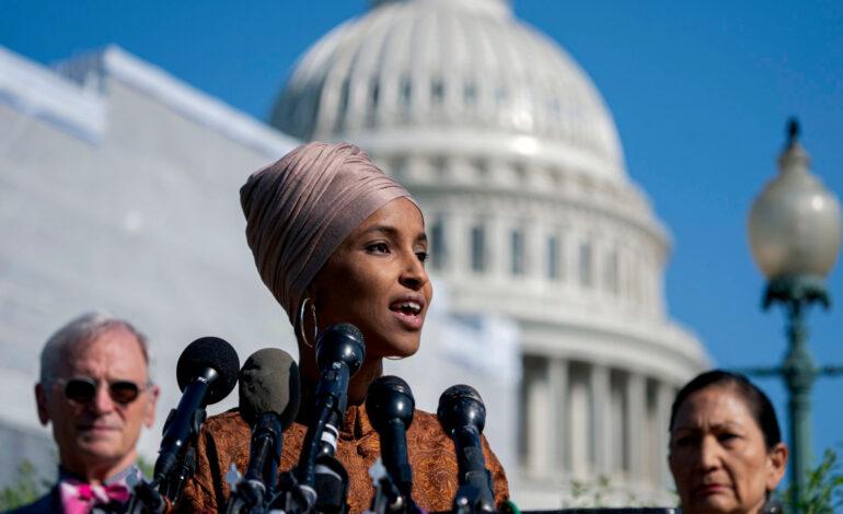 Omar clarifies remarks on Israel, U.S. war crimes, after Dem, GOP pushback