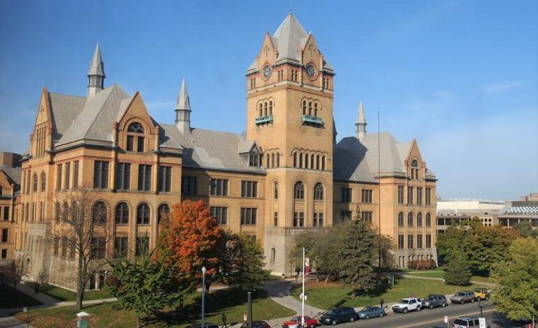 Wayne State University president blocks student senate statement on Palestine