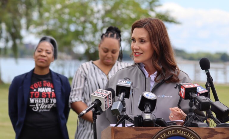 Whitmer's approval rating has fallen, poll finds