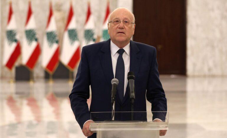 Businessman Mikati secures votes to be designated Lebanon's PM