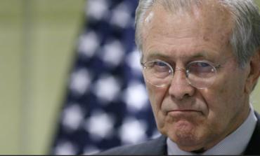 Farewell to Donald Rumsfeld, dreary war criminal