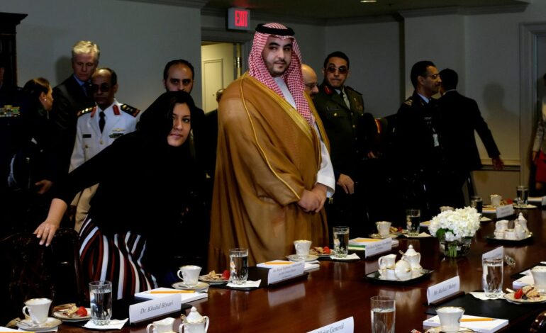 """Saudi minister says he held """"great meeting"""" with Blinken"""