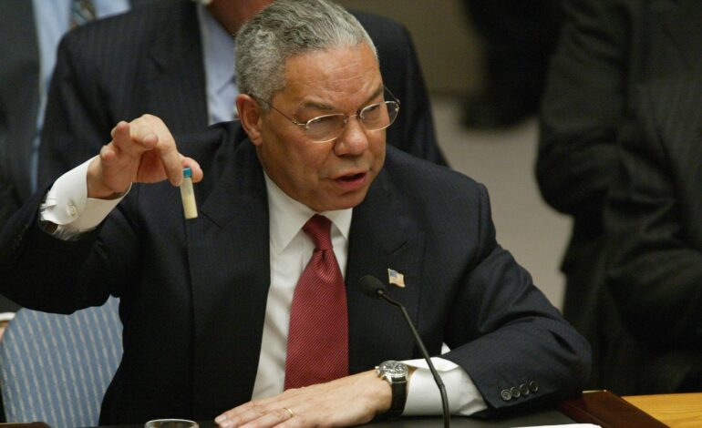 Colin Powell, not a hero