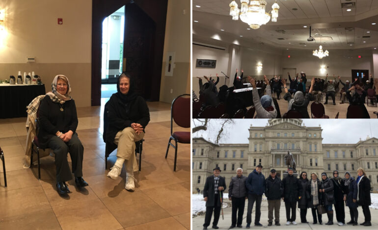 After COVID halted its activities, senior program returns to Dearborn mosque