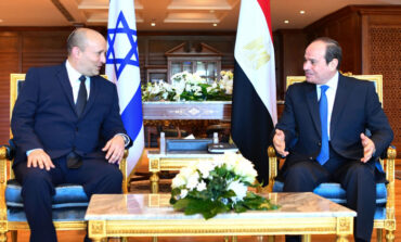 Israeli prime minister visits Egypt in first official trip in a decade