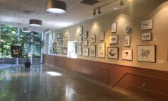 See original Arabic calligraphy and an artist talk at Farmington Hills City Hall