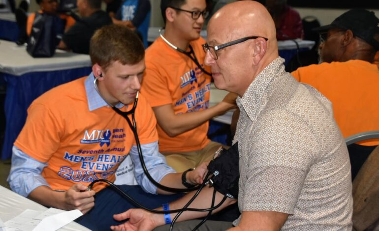 Men's health screenings worth more than $2,000 provided for free at Ford Field on Saturday
