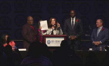 Whitmer vetoes GOP voting bills prohibiting procedures that don't exist